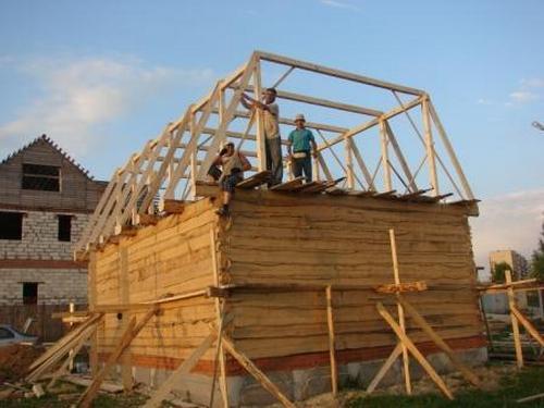 Строим дом и крышу своими руками
